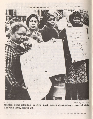 from Women's Liberation Movement on line archival collection, Duke University