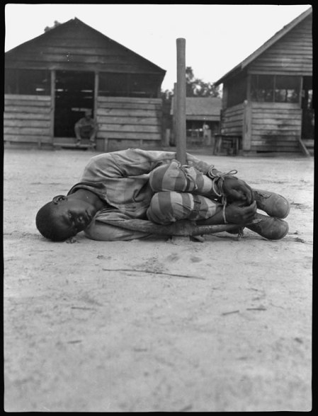Punishment in a Forced Labor Camp, 1930's, Georgia