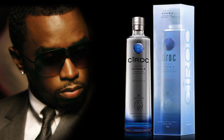 Sean Combs and Ciroc